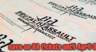 Brutal Assault 2014 tickets & accomodations