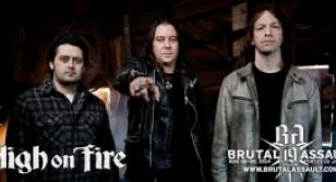 High On Fire at Brutal Assault, 2014