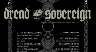 Dread Sovereign & Procession concert in Bucharest