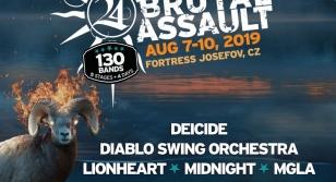 Brutal Assault 24 - 2019 Band update